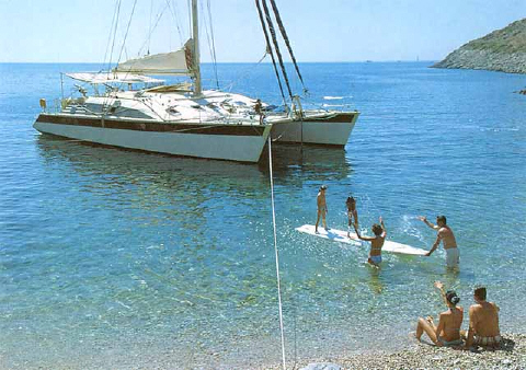 Charter Catamaran Turkey