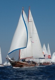 Charter Yacht Sailing Turkey