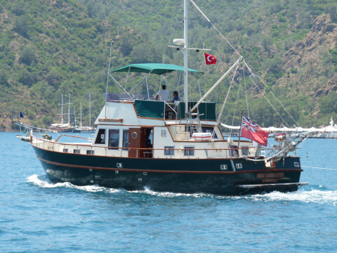Sailing Turkey at Gocek
