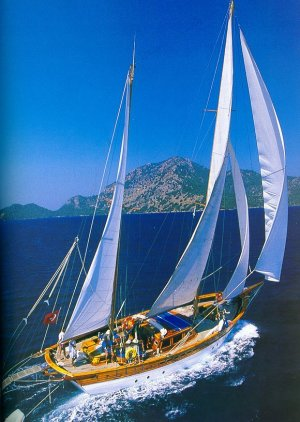 Sailing Aegean Turkey