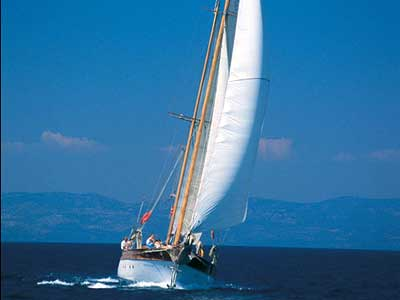 Sailing Aegean Greece